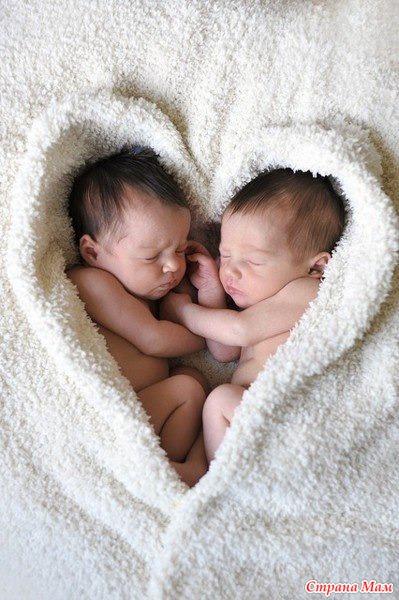 Фото близнецов на аву