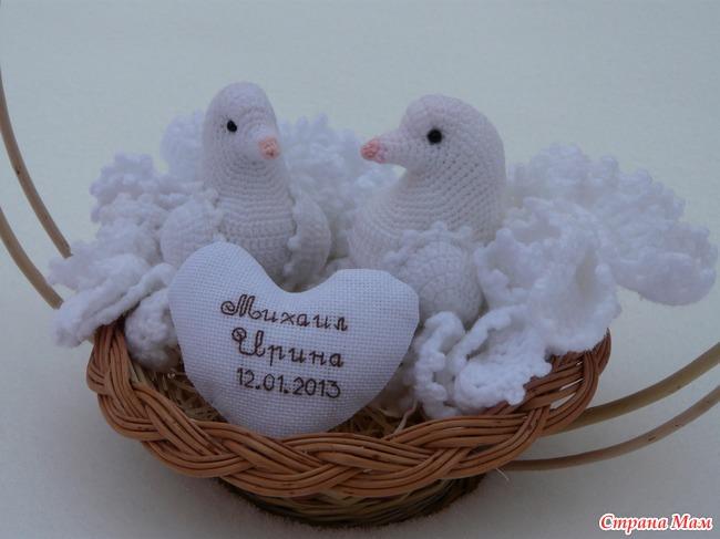 Свадебные голубки - Страна Мам