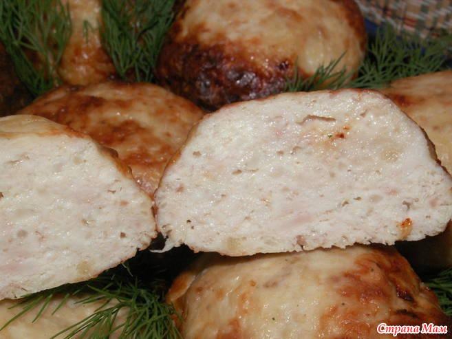 Как приготовить куриные котлеты в духовке с фото