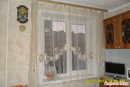 """Штора на кухню из закупки """"Красивые скатерти, дорожки, шторы, шторы-нитки"""" организатор Solnishko25: фотография в альбоме Мои хва"""