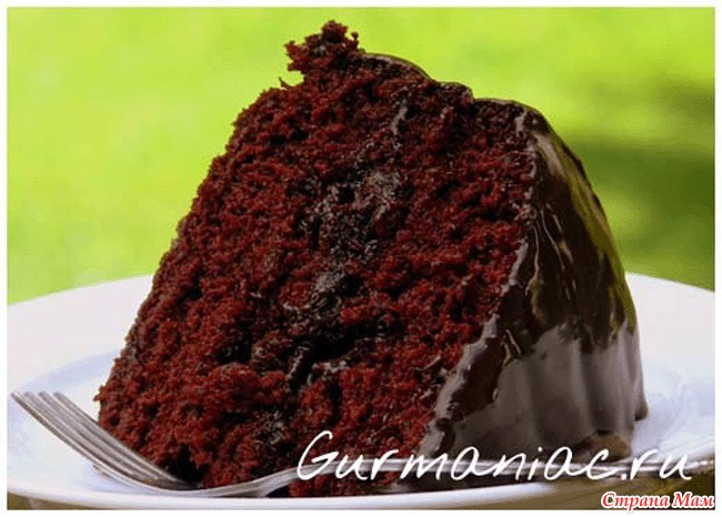 Рецепт торта с шоколадом с фото
