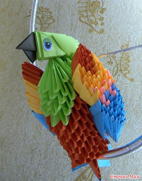 Фото оригами город