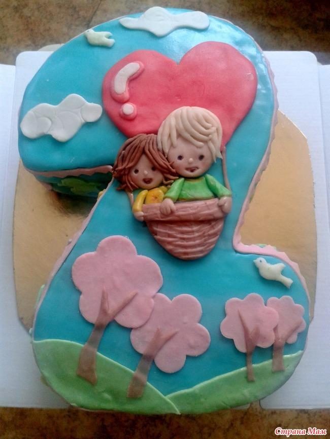 Именинние торти для двойнят фото