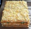 Рыбный пирог из коржей пошаговый рецепт с