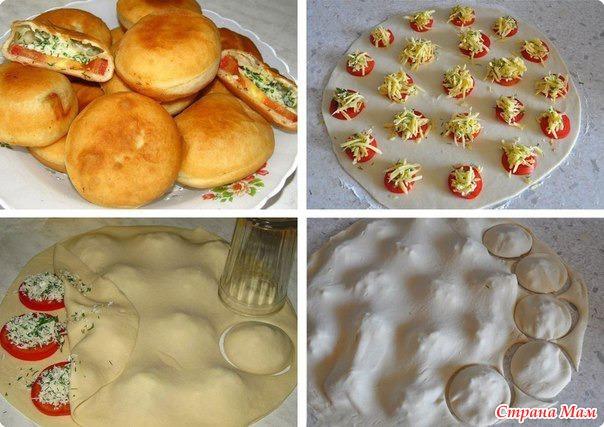 как лепить пироги фото