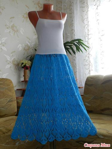 юбка для полной женщины с узкими бедрами