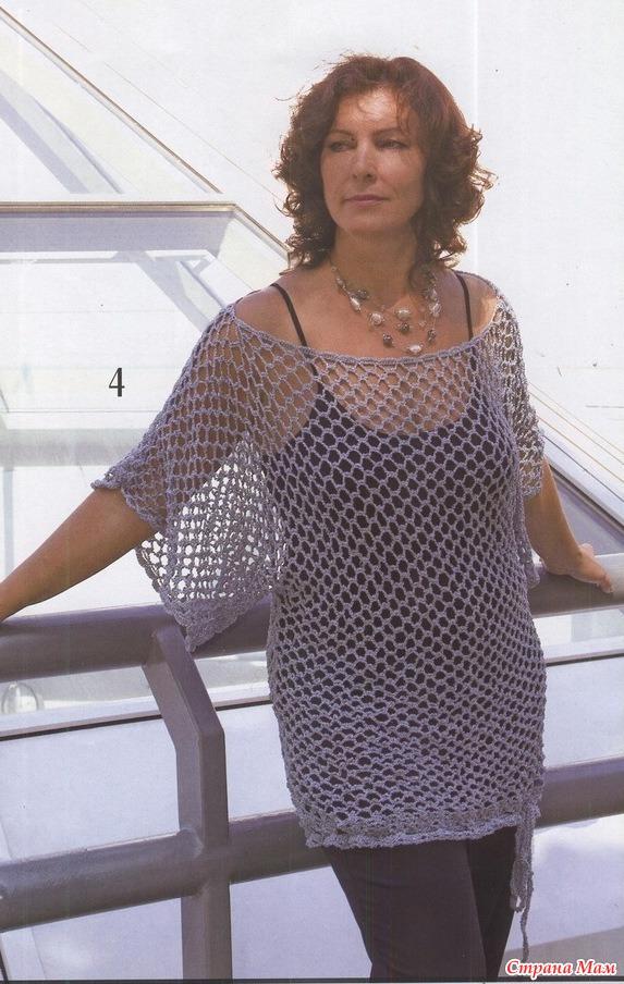 Вязание Крючком 58 Блузки