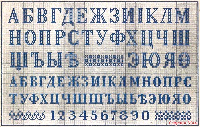 Как перевести текст в вышивку