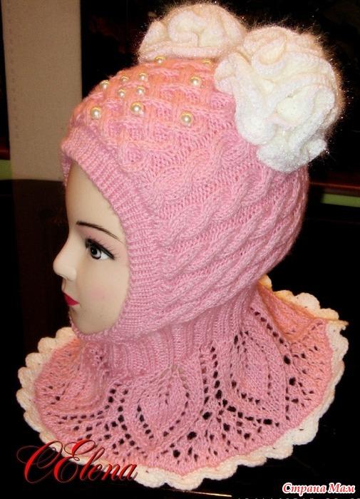 Схема вязания шапки для девушки фото 239