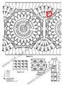 На примере закругленной проймы рассмотрим схему вязания проймы спицами. .  Объемные женские вязаные шарфы к весне. .