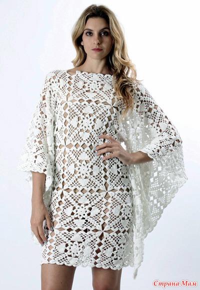 *Платье с свободными рукавами