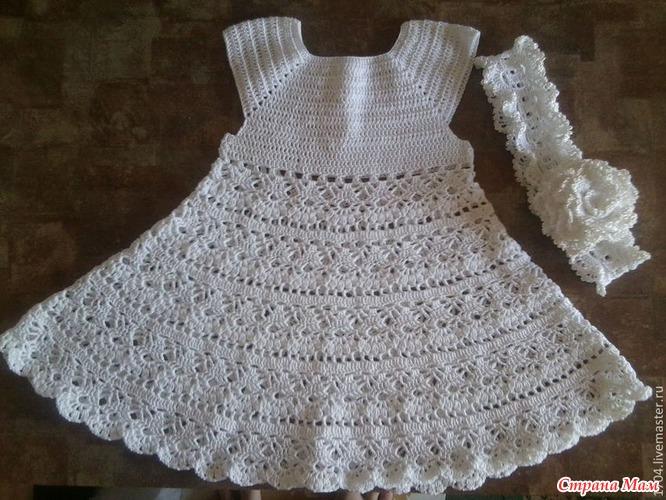 ажурное вязание для новорожденных