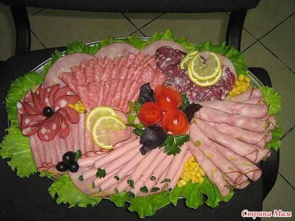 Чем нарезать колбасу и сыр красиво своими