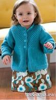Детский Вязаный Джемпер Для Девочки