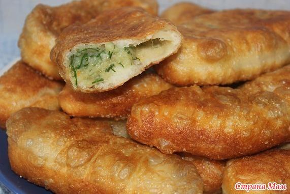 Рецепт теста для пирожков с картошкой на сухих дрожжах рецепт