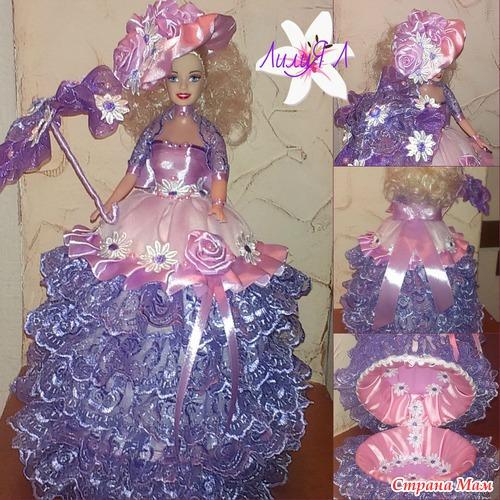 Как сделать куклу шкатулку своими руками фото