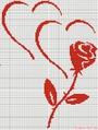 Сердца и роза