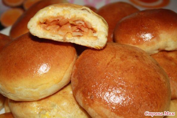 рецепт пирожки печеные с фото