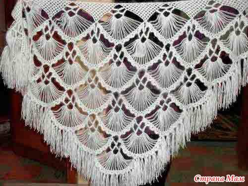 Вязание спицами ажурные узоры