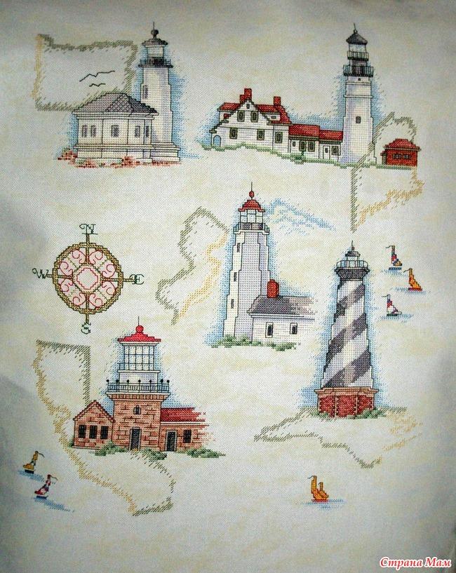 Значение маяка в вышивке