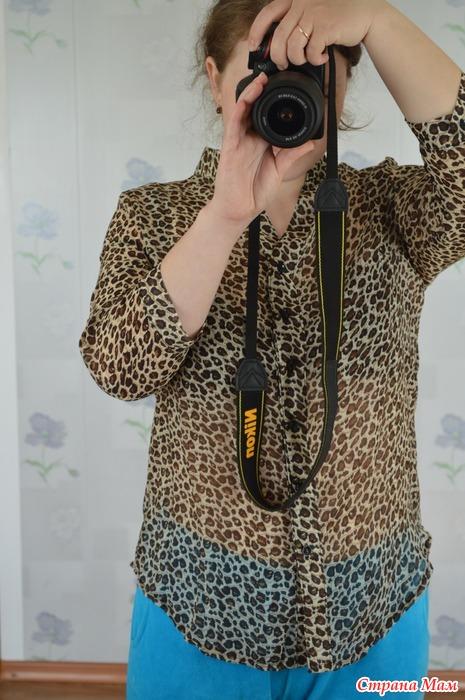 Блузка Леопард В Омске