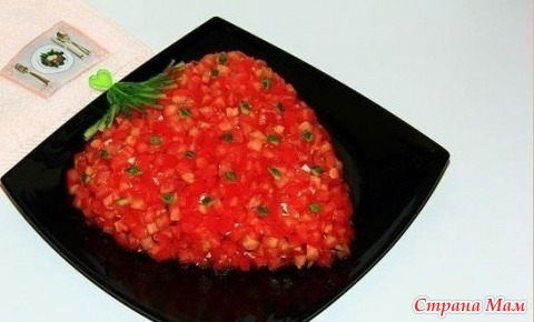 Салат клубничка рецепт и фото