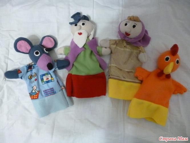 Кукла для домашнего театра своими руками