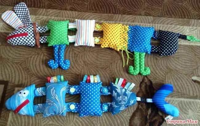 Развивающие игрушки застёжки своими руками 16