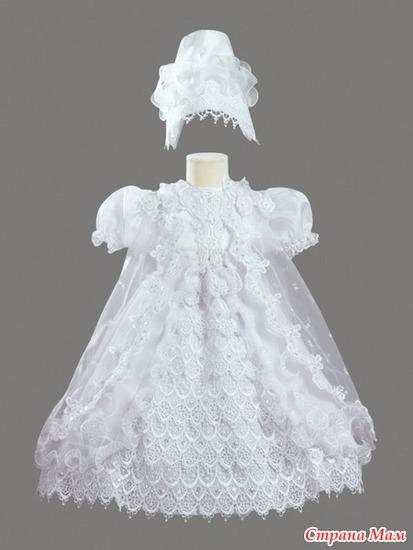 крестильное платье!