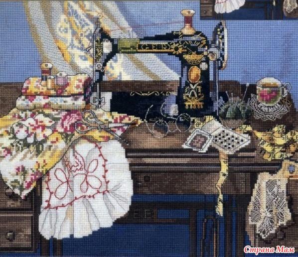 схемки швейных машинок