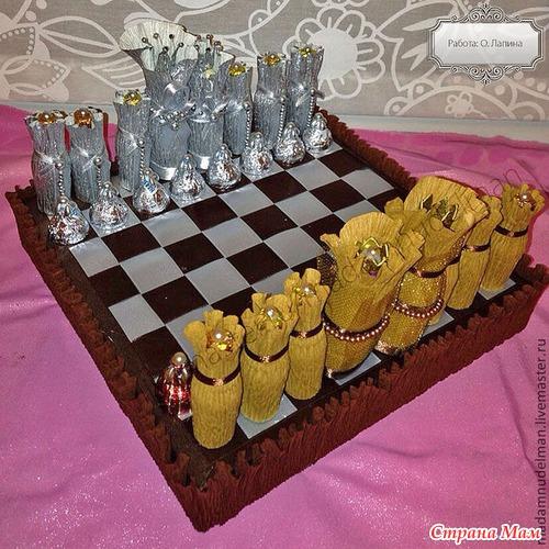 Шахматы своими руками пошаговое