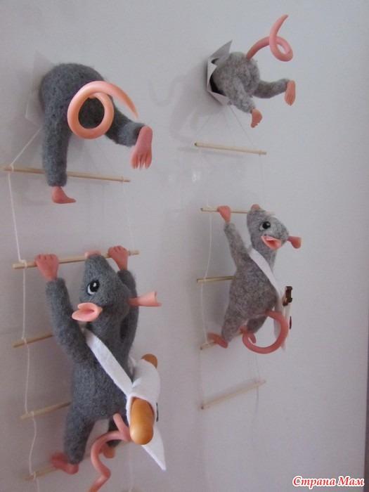 Забавные магниты на холодильник своими руками