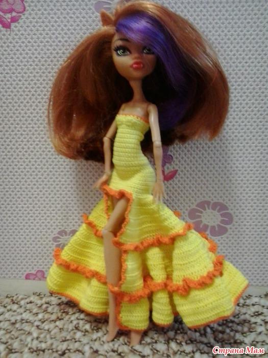 Красивое платье для монстр хай