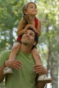 Как папа увидел как моется дочь