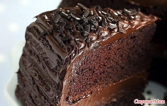Торт шоколадный прага рецепт с фото