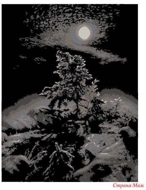 С-010 зимняя ночь схема