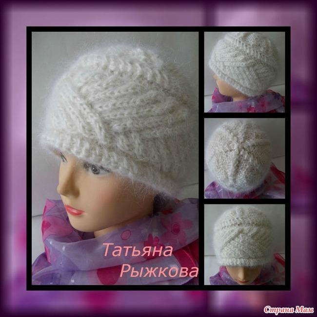 Вязание спицами страна мам шапки для женщин