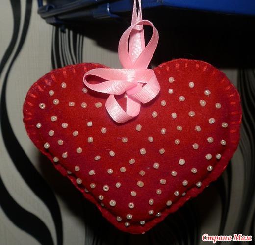 Игольницы сердечки своими руками