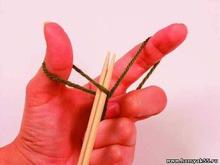18 способов набора петель спицами