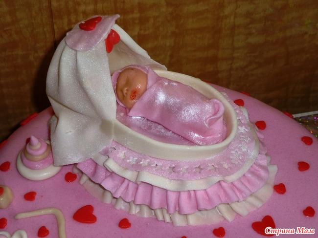 Как сделать торт младенец