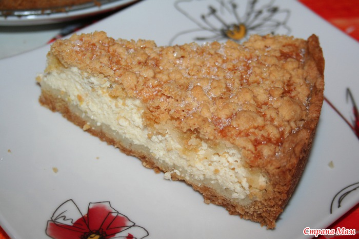 Рецепты пирога из творога с фото