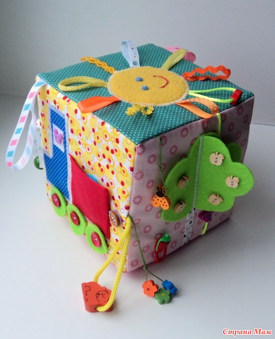 Развивающий кубик своими руками мастер класс фото 160