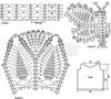 Выкройка подклада для вязаного платья 4.
