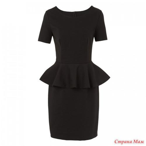 Выкройка платья баски