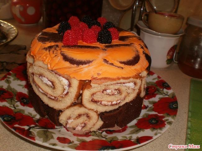 Наивкуснейший торт своими руками