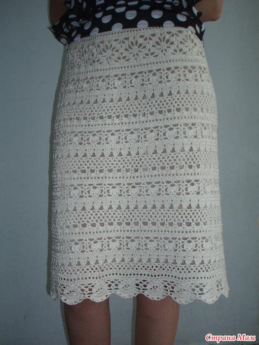 Вязаные юбки крючок страна мам