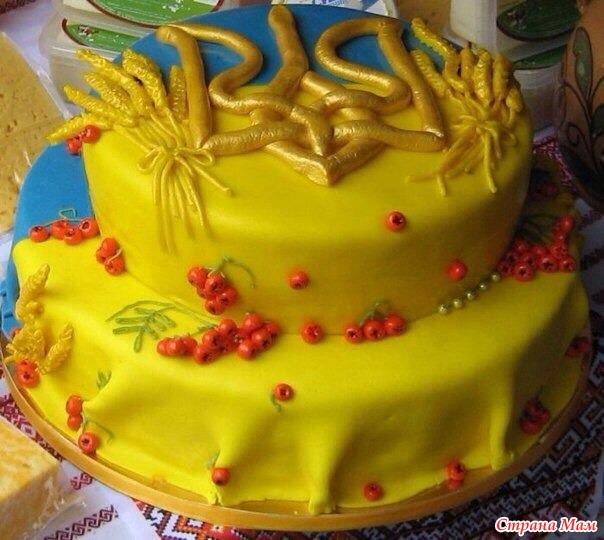 Фото красивых тортов украина