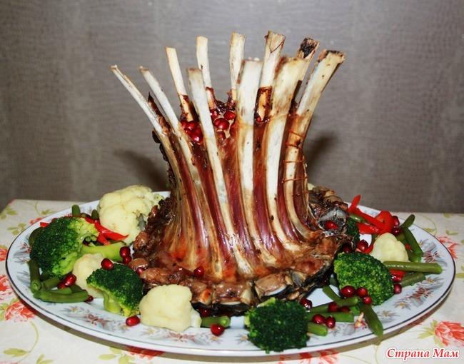 Праздничные блюда из баранины рецепты с фото