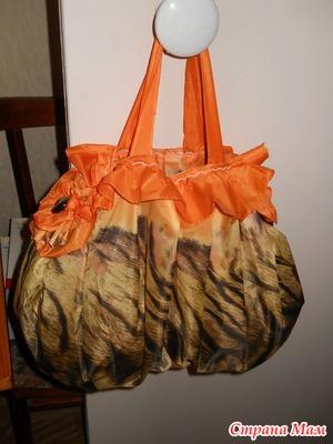 Сшит сумку из старого зонта 836