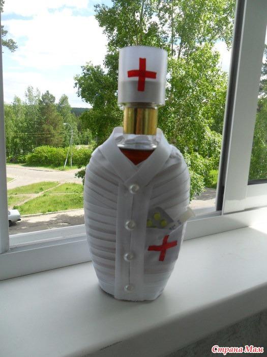 Подарок своими руками для медика